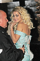 LONDON - NOVEMBER 27: Rita Ora attended the British Fashion Awards 2012 at The Savoy Hotel, London, UK. (Photo by Richard Goldschmidt)