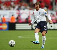 Photo: Chris Ratcliffe.<br /> England v Trinidad & Tobago. Group B, FIFA World Cup 2006. 15/06/2006.<br /> David BEckham.
