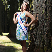 Silverton resident Moniqa Keisling was recently named Ms. Oregon through American Coed Pageants. She poses at McLaine-Coolidge Park on Wednesday, Aug. 3, 2011.