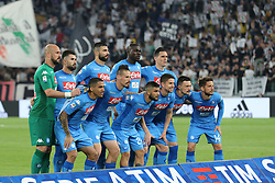 April 22, 2018 - Torino, Piemonte, Italy - in the picture: soccer naples..22 April 2018 - Turin, Italy - final match between F.C. Juneventu and SSC Napoli, at the Allianz Stadium in Turin, which is awarded the Scudetto in Serie A in Italy..Napoli wins 1-0. (Credit Image: © Fabio Sasso/Pacific Press via ZUMA Wire)