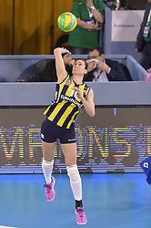 09-04-2016 ITA: CEV DenizBank Champions League Fenerbahce Grundig Istanbul - VakıfBank Istanbul, Montichiari<br /> Vakifbank wint met 3-0 en plaatst zich voor de finale / <br /> Lucia Bosetti of Fenerbahce Grundig Istanbul<br /> <br /> ***NETHERLANDS ONLY***
