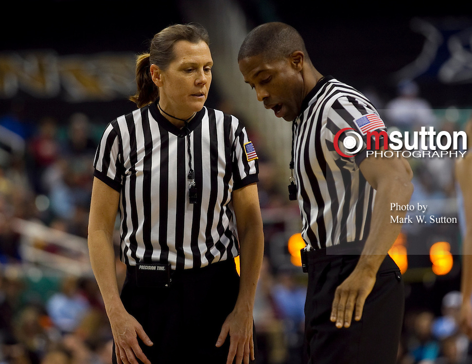 Referee Karen Preato during the 2011 ACC Womens Basketball