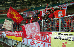 JAKARTA, INDONESIA - Saturday, July 20, 2013: Liverpool supporters before a preseason friendly against Indonesia XI at the Gelora Bung Karno Stadium. (Pic by David Rawcliffe/Propaganda)JAKARTA, INDONESIA - Saturday, July 20, 2013: Liverpool supporters before a preseason friendly against Indonesia XI at the Gelora Bung Karno Stadium. (Pic by David Rawcliffe/Propaganda)