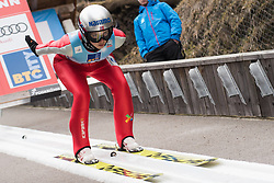 February 8, 2019 - Ljubno, Savinjska, Slovenia - Silje Opseth of Norway on first competition day of the FIS Ski Jumping World Cup Ladies Ljubno on February 8, 2019 in Ljubno, Slovenia. (Credit Image: © Rok Rakun/Pacific Press via ZUMA Wire)
