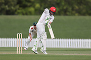 Tom Latham of Canterbury. Canterbury vs. Central Districts Day 2, 1st round of the 2021-2022 Plunket Shield cricket competition at Hagley Oval, Christchurch, on Sunday 24th October 2021.<br /> © Copyright Photo: Martin Hunter/ www.photosport.nz