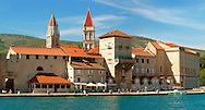 Harbour front - Trogir Croatia .<br /> <br /> Visit our MEDIEVAL PHOTO COLLECTIONS for more   photos  to download or buy as prints https://funkystock.photoshelter.com/gallery-collection/Medieval-Middle-Ages-Historic-Places-Arcaeological-Sites-Pictures-Images-of/C0000B5ZA54_WD0s