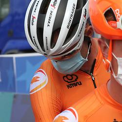 26-08-2020: Wielrennen: EK wielrennen: Plouay<br /> Pieter Weening