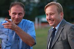 Boris Mikuz and Peter Kukovica of AZS at 23rd International Meeting Brezice 2008, on September 10, 2008, Brezice, Slovenia.   (Photo by Vid Ponikvar / Sportal Images).