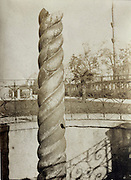 The Serpent Column Istanbul Turkey photograph early 1900s