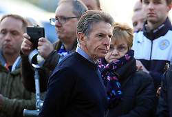 Leicester City manager Claude Puel pays respect to club chairman Vichai Srivaddhanaprabha, who was among those to have tragically lost their lives on Saturday evening when a helicopter carrying him and four other people crashed outside King Power Stadium.