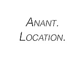 Anant. Location.