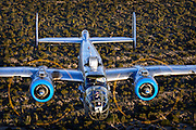 Colour Photographic Image of B-25 WWII Bomber