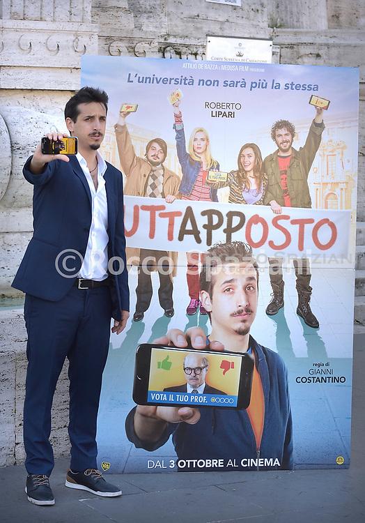 """PHOTOCALL """"TUTTAPPOSTO"""" CON ROBERTO LIPARI, LUCA ZINGARETTI E IL CAST - VENERDI 27 SETTEMBRE - ROMA"""