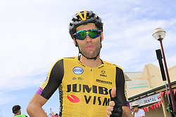 January 19, 2019 - Strathalbyn, AUSTRALIA - Belgian Maarten Wynants of Team Jumbo-Visma pictured during the fifth stage of the 'Tour Down Under' cycling race, 149,5 km Glenelg to Strathalbyn, Australia, Saturday 19 January 2019. This years edition of the race is taking place from January 15th to January 20st...BELGA PHOTO YUZURU SUNADA FRANCE OUT. (Credit Image: © Yuzuru Sunada/Belga via ZUMA Press)