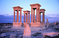 Syrie - Palmyre - Tetrapyle