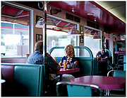 Out for lunch at the Ok Diner on the A1. Shot for Roadside Britain