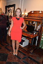 TANYA BURR at the Dolce & Gabbana London Collections: Mens Event 2014 held at Dolce & Gabbana, 53-55 New Bond Street, London on 5th January 2014.