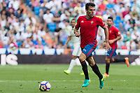 Club Atletico Osasuna's Jaime Romero during the match of La Liga between Real Madrid and Club Atletico Osasuna at Santiago Bernabeu Estadium in Madrid. September 10, 2016. (ALTERPHOTOS/Rodrigo Jimenez)