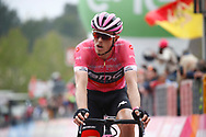 Arrival Rohan Dennis (AUS - BMC) pink leader jersey during the 101th Tour of Italy, Giro d'Italia 2018, stage 6, Caltanissetta - Etna 163 km on May 10, 2018 in Italy - Photo Luca Bettini / BettiniPhoto / ProSportsImages / DPPI