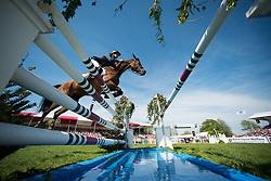 Nicolas Astier, (FRA), Quickly du Buget<br /> CCI4* - Mitsubishi Motors Badminton Horse Trials 2016<br /> © Hippo Foto - Jon Stroud