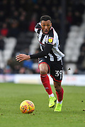 Grimsby Town Forward Wes Thomas (39) during the EFL Sky Bet League 2 match between Grimsby Town FC and Milton Keynes Dons at Blundell Park, Grimsby, United Kingdom on 26 January 2019.