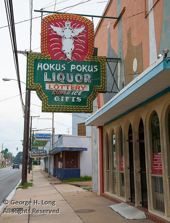 Hokus Pokus Liquor store; Alexandria, Louisiana