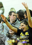 The Rocky River boys varsity basketball team defeated Avon in a West Shore Conference game on February 4, 2011.