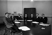 1964 - Group in boardroom at the Institute of Industrial Research and Standards