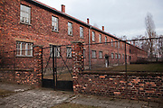 Barrack building, Auschwitz, Poland.