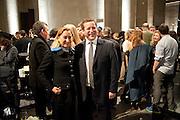 MIUCCIA PRADA; ED VAIZEY, Turner Prize 2010. Tate Britain. Millbank. London. 6 December 2010. -DO NOT ARCHIVE-© Copyright Photograph by Dafydd Jones. 248 Clapham Rd. London SW9 0PZ. Tel 0207 820 0771. www.dafjones.com.