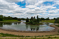 Blenheim Palace during Lockdown 2020 ,Blenheim Palace is a monumental country house in Woodstock, Oxfordshire, England, It is the principal residence of the Duke of Marlborough, and the only non-royal, non-episcopal country house in England to hold the title of palace photo by Mark Anton Smith