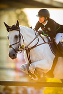 Paris, France : Laura Kraut riding Zeremonie during the Longines Paris Eiffel Jumping 2018, on July 5th to 7th, 2018 at the Champ de Mars in Paris, France - Photo Christophe Bricot / ProSportsImages / DPPI