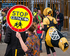 Climate Change Protest, Scottish Parliament, Edinburgh, 20 June 2019