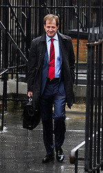 © Licensed to London News Pictures. 14/05/2012. London, UK. Alastair Campbell arriving at the Royal Courts of Justice to give evidence at the Leveson inquiry in to press standards on May 14, 2012.. Photo credit : Thomas Campean/LNP..