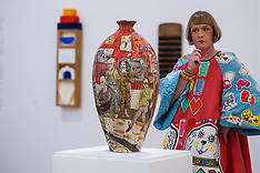 OCT 02 2012 Grayson Perry At The Royal Academy