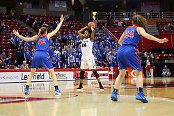 2 March 2018:  Richwoods Kinghts v Glenbard South Raiders at Girls IHSA State 3A Semi Final At Redbird Arena in Normal IL