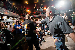 "Rory Miller takes on Alan. The Institute of Krav Maga Scotland had renowned Conflict Management expert and best selling author, Rory Miller, sharing his unique insight on the dynamics of violence, scenario based training, at an ""In The Club"" seminar based at The Buff Club, in Glasgow City Centre. The seminar brings Krav Maga training outwith the confines of the gym and into a real nightclub/bar."
