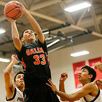 121914  Adron Gardner/Independent<br /> <br /> Gallup Bengal XXX () Piedra Vista Panther XXX () during the Eddie Peña Holiday Classic in Grants Friday.