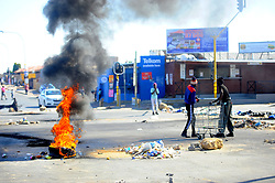 South Africa - Johannesburg - 24 June 2020 - Residents from Diepkloof Sowetohavebeen withoutelectricityfor 3 months, the community blocked roads to protest against the electricity cuts.Picture: Nokuthula Mbatha/African News Agency(ANA)