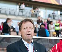Fotball<br /> EM kvinner 2009<br /> Norge v Frankrike 1-1<br /> 30.08.2009<br /> Foto: Jussi Eskola, Digitalsport<br /> NORWAY ONLY<br /> <br /> Bjarne Berntsen