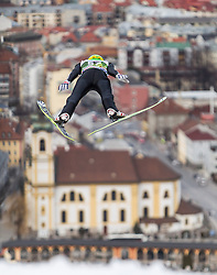 03.01.2014, Bergisel Schanze, Innsbruck, AUT, FIS Ski Sprung Weltcup, 62. Vierschanzentournee, Training, im Bild Jurij Tepes (SLO) // Jurij Tepes (SLO) during practice Jump of 62nd Four Hills Tournament of FIS Ski Jumping World Cup at the Bergisel Schanze, Innsbruck, <br /> Austria on 2014/01/03. EXPA Pictures © 2014, PhotoCredit: EXPA/ JFK
