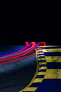 October 15-17, 2020. IMSA Weathertech Petit Le Mans: Long exposure light trails