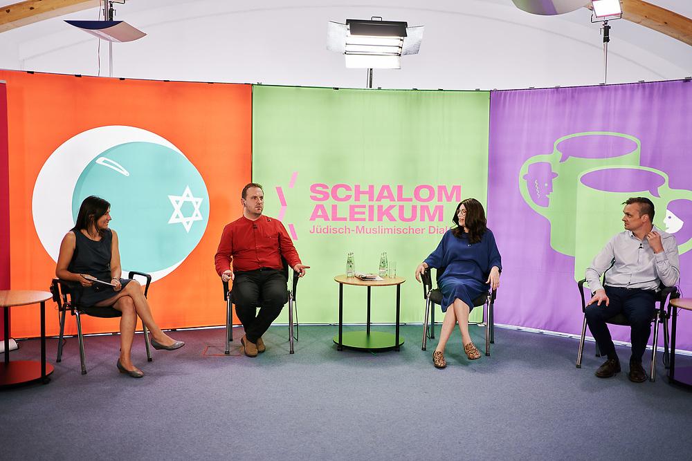 Germany, Berlin, 2020/08/19<br /> <br /> Schalom Aleikum on 19/08/2020. <br /> (Photo by Gregor Zielke)