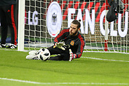David De Gea (Spain) before the International Friendly Game football match between Germany and Spain on march 23, 2018 at Esprit-Arena in Dusseldorf, Germany - Photo Laurent Lairys / ProSportsImages / DPPI