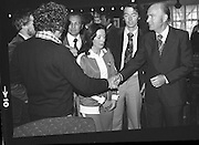 President Hillery at The Community Games..1979..15.09.1979..09.15.1979..15th September 1979..President Patrick Hillery attended the opening of The National Community Games finals at Mosney, Co Meath today. The finals were held in the grounds of The Butlins Holiday Centre and were sponsored by Tayto Irl Ltd,Greencastle Road,Coolock,Dublin..