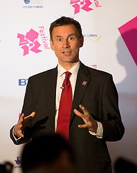© London News Pictures. 26/04/2012. London, UK. Secretary of State for Culture, Olympics, Media and Sport, Jeremy Hunt MP speaking at the launch of the London 2012 Festival at the Tower of London on April 26, 2012. London 2012 Festival  is a festival celebrating the 2012 Olypic Games in London. Photo credit : Ben Cawthra/LNP