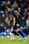 Manchester City midfielder Riyad Mahrez (26) during the Premier League match between Burnley and Manchester City at Turf Moor, Burnley, England on 3 December 2019.