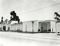 1937 Trocadero Cafe Nightclub on Sunset Blvd. in West Hollywood