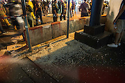 Aug. 17, 2015 - Bangkok, Thailand - <br /> <br /> Huge Explosion Rocks Bangkok Landmark<br /> <br /> Explosion hits Central Bangkok (Chidlom district) outside a famous religious shrine of Erawan, killing at least 27 people and injured 78, thai police said..Broken window on the floor, the bomb broke window of surrounded building, at more then 50 meters away. <br /> ©Exclusivepix Media