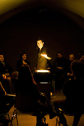 Alexander Singh - performance at Museo Marini - Florence - Italy